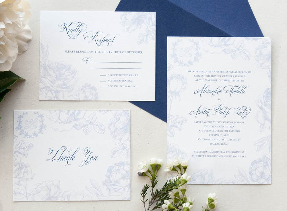 French Country Wedding Suite, Graphic Design, Jessica Oviedo