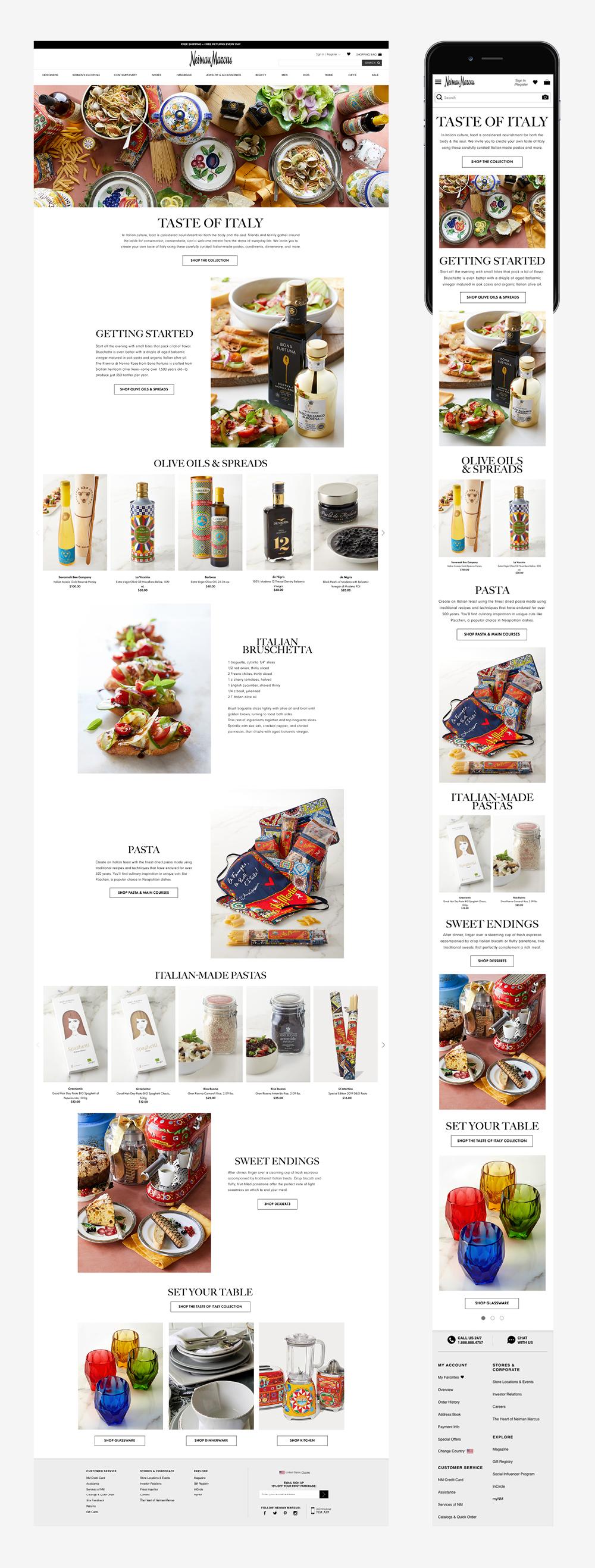 Taste of Italy, Gourmet/Epicure, Graphic Design, Jessica Oviedo