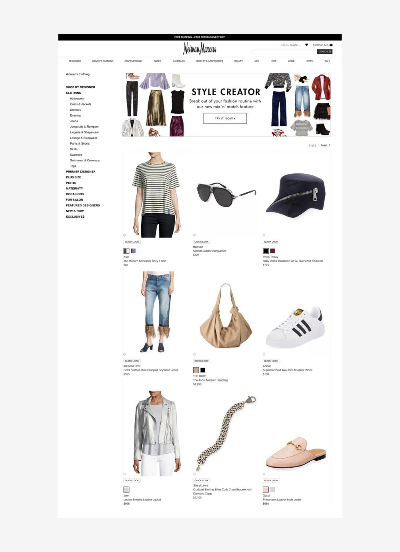 Style Creator, Web Design, Jessica Oviedo