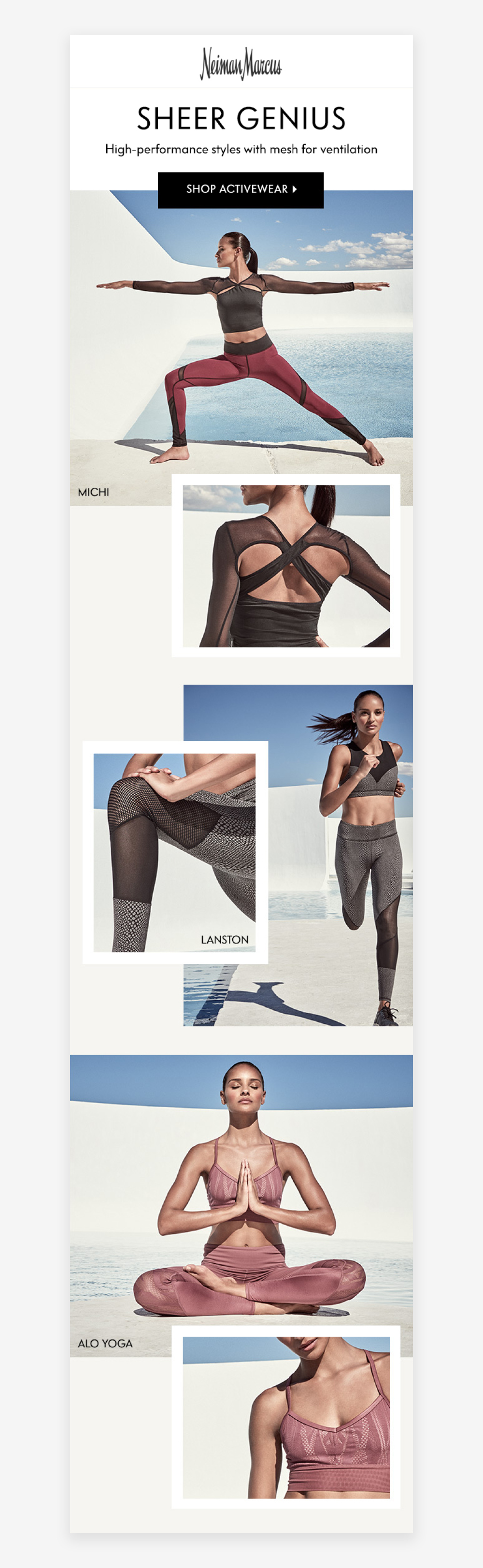 Swim & Sun Resort, Swim and Activewear, Web Design, Jessica Oviedo